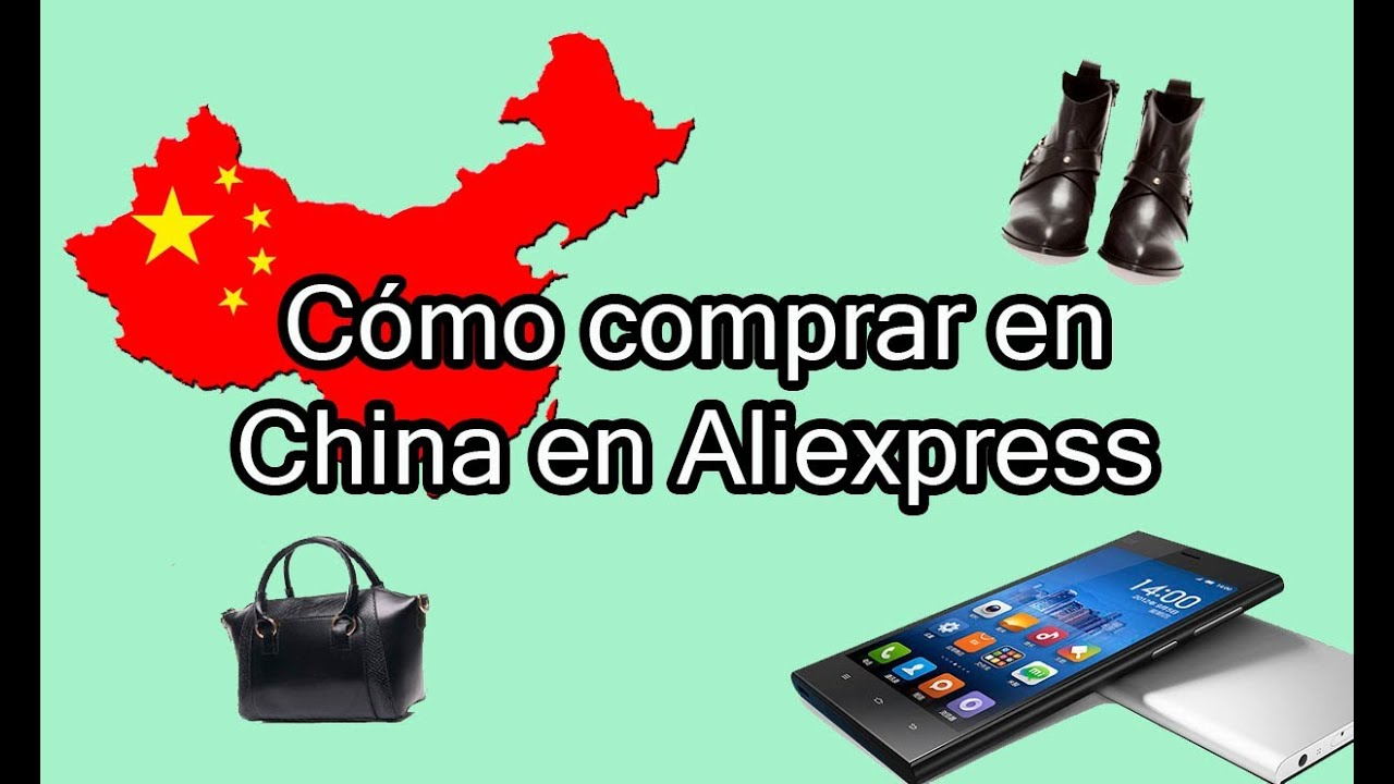 Cómo comprar en China con Aliexpress - YouTube