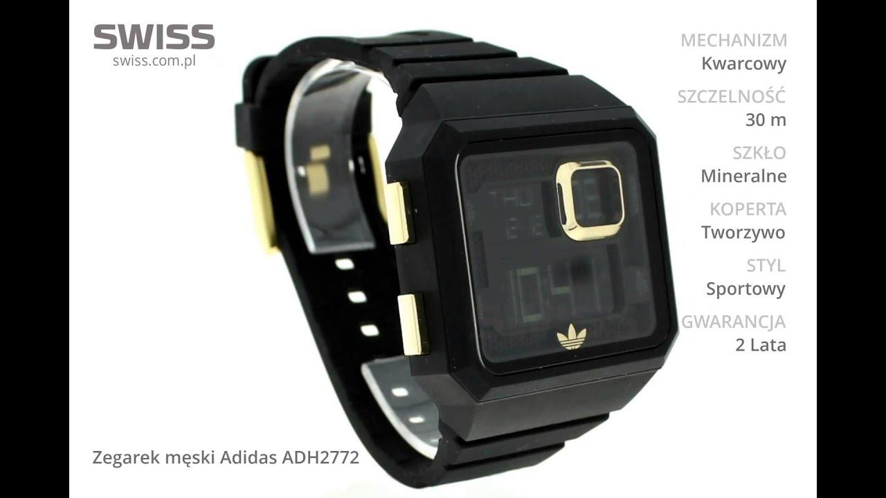 Ekstremalne www.swiss.com.pl - Zegarek męski Adidas ADH2772 - YouTube SR-31