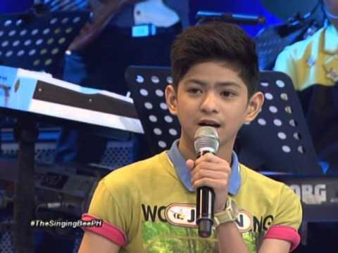 Brace, Joaquin, Grae & John  their singing prowess in The Singing Bee