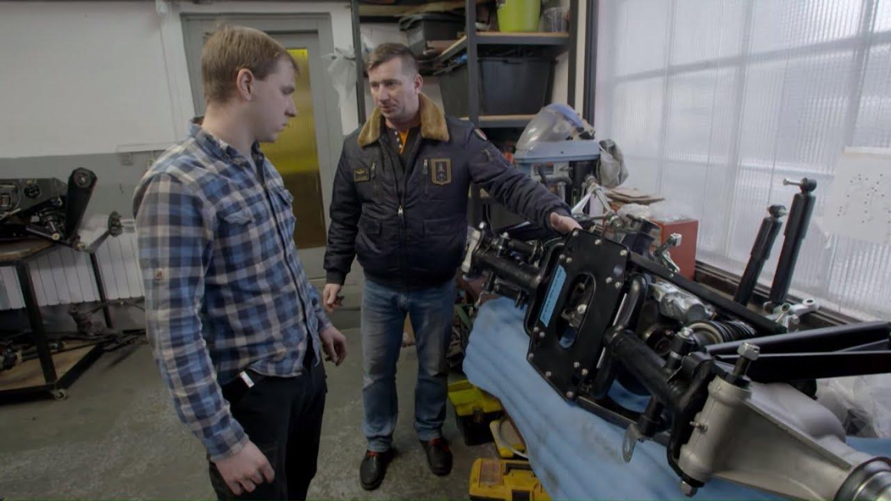 Tomek nadzorował przygotowania do montażu zawieszenia #Mechanicy
