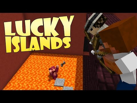 RÄTT NER I LAVAN! | Lucky Islands