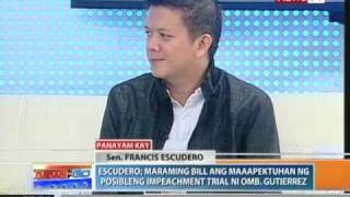 "News to Go - Interview with Sen. Chiz Escudero, Financial advice on ""Kita mo na"" (03/10/11)"