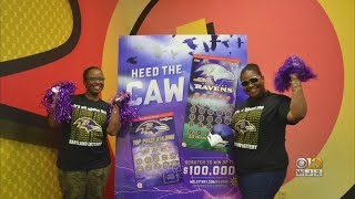 2 Lottery Winners To Travel With Ravens To Los Angeles