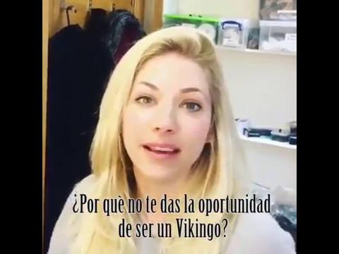 El coqueteo de una actriz de Vikings con Nico Vázquez
