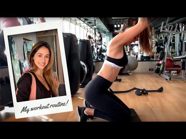 Back Workout Routine | Disha Patani
