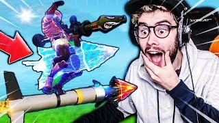 I've REALIZED THE INCROYABLE WITH THE NEW ROCKET LANCE ON FORTNITE BATTLE ROYALE !!!