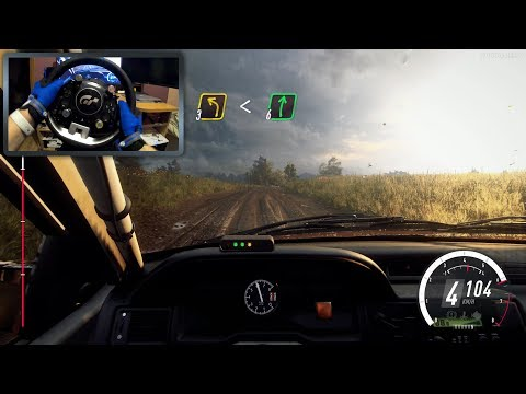 DiRT Rally 2.0 [PC] - Ford Escort RS Cosworth Gameplay With Thrustmaster T-GT & Wheel Stand Pro