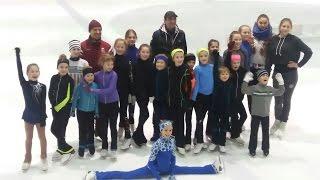 Школа А. Рябинина | IFSS | Зимние сборы по фигурному катанию в Латвии | Figure skating camp
