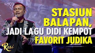 Download lagu Stasiun Balapan Jadi Lagu Didi Kempot Favorit Judika - ROSI
