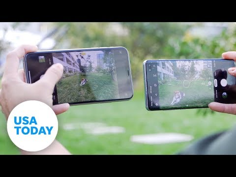 Samsung Galaxy S10+ Vs. IPhone 11 Pro Max: Who Has The Better Camera? | USA TODAY