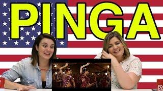 """Americans React To """"Pinga"""""""