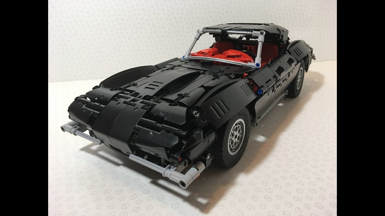 lego technic corvette c2 with buwizz youtube. Black Bedroom Furniture Sets. Home Design Ideas