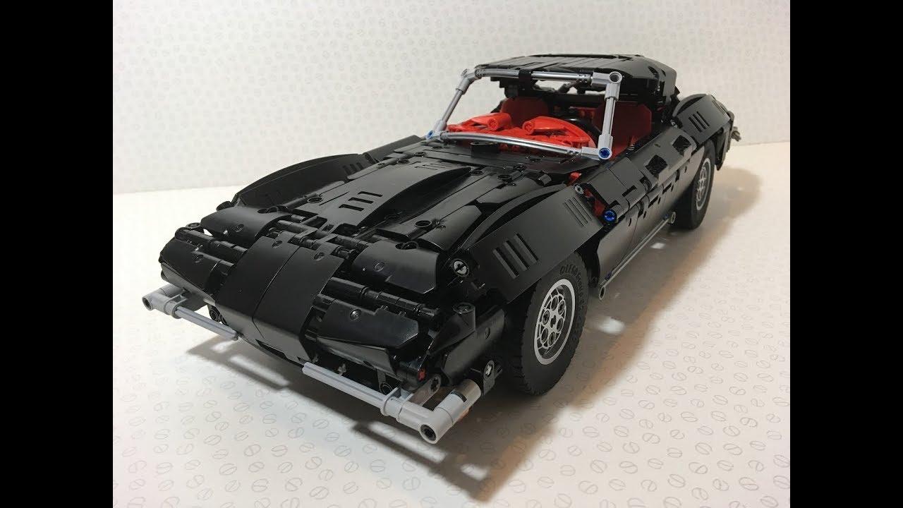 lego technic corvette c2 with buwizz youtube. Black Bedroom Furniture Sets. Home Design Ideas