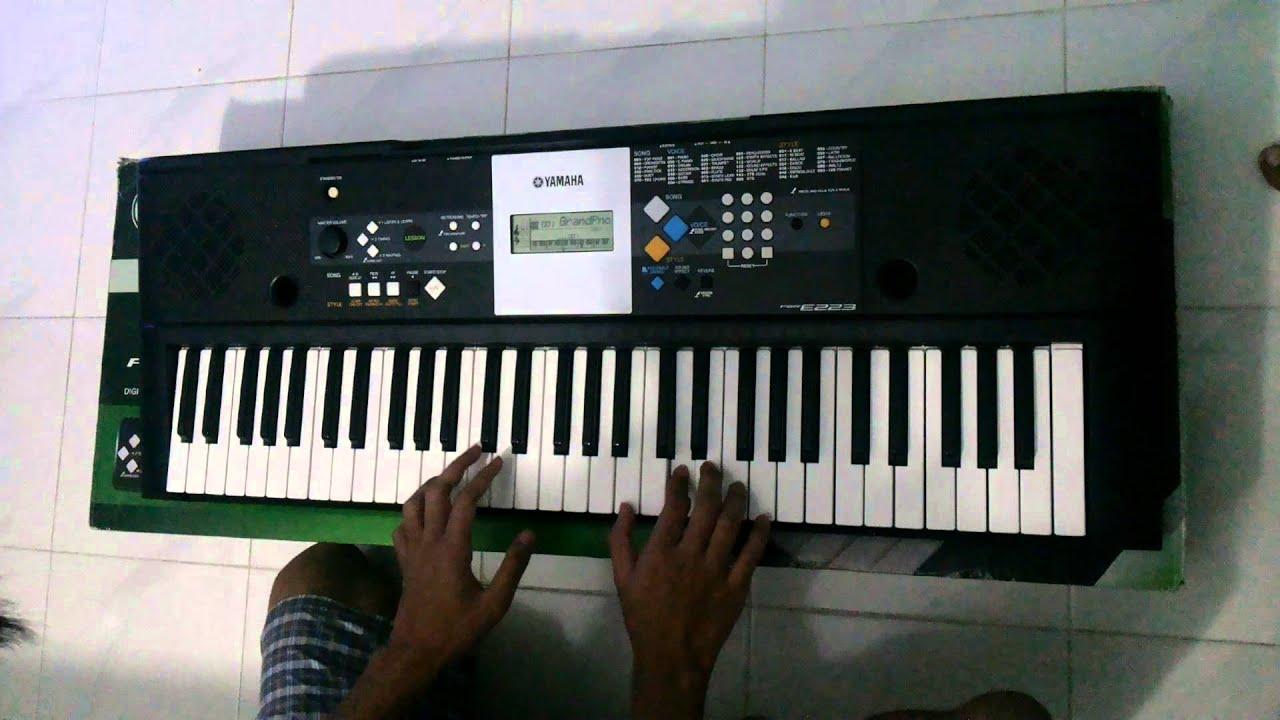 Yamaha Keyboard Psr E223 : yamaha psr e223 digital keyboard youtube ~ Vivirlamusica.com Haus und Dekorationen
