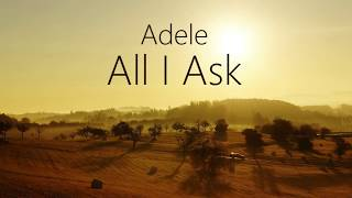 Adele All I Ask LYRICS