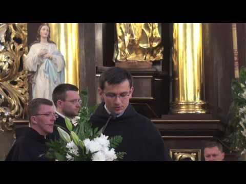 Śluby wieczyste u franciszkanów 2010 (1/2)
