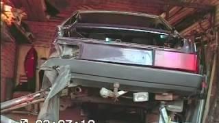 Рихтовка ВАЗ 21099 . Кузовной ремонт.BODY REPAIR(Как вытянуть машину если нет рихтовочного стенда. Боковой задний , левый удар., 2012-08-25T15:38:29.000Z)