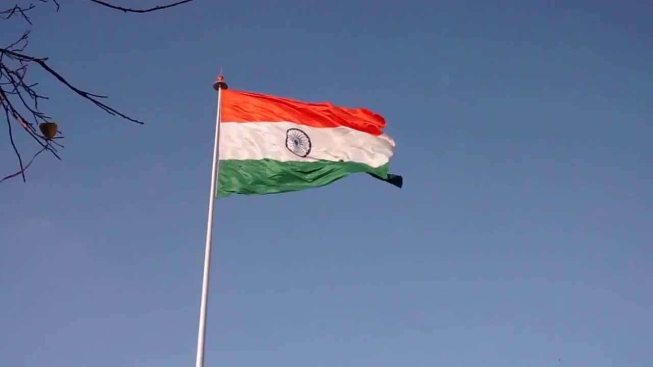 Indian Animated Flag Waving: Waving Indian Flag