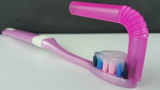 Toothbrush submarine .. Funny Science HOWTO of the wonderful video and life honey tip [HOWTO]