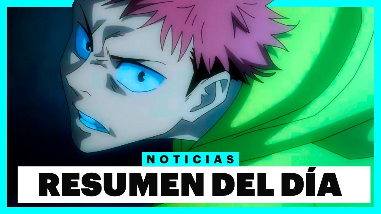 El Anime Jujutsu Kaisen Revela sus Primeros Detalles y más - Noticias