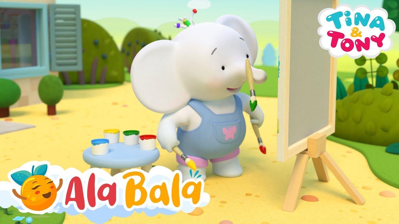 Tina și Tony - Desene animate educative pentru copii AlaBala