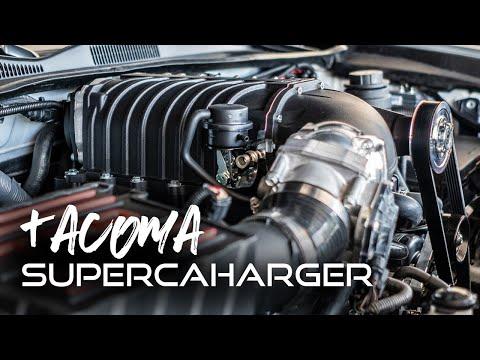 3rd Gen TACOMA SUPERCHARGER! Harrop Supercharger!