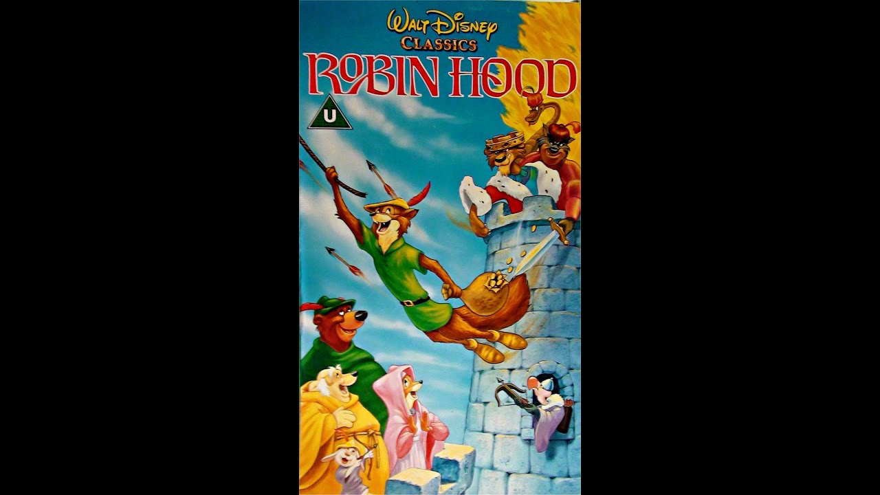 Digitized opening to Robin Hood (UK VHS - version 2)