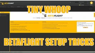 Tiny Whoop Betaflight Setup Tricks(PID Overview, Filter setup, Looptimes, And more. Music: https://soundcloud.com/aka-dj-quads/living-in-stereo ..., 2017-02-02T03:57:59.000Z)