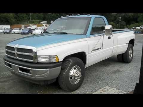 1996 Dodge Ram 3500 V10 Start Up Exhaust And In Depth Tour Youtube