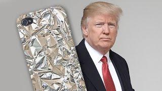 Donald Trump, Truyền Thông Trung Quốc, và Điện Thoại Bọc Giấy Thiếc   Trung Quốc Không Kiểm Duyệt