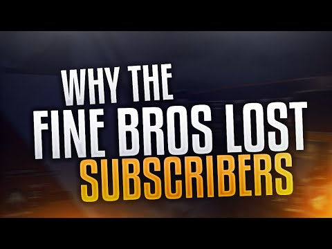Why Did TheFineBros Lose So Many Subscribers? | TheFineBros YouTube Drama | Losing 500,000 Subs