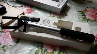 Обзор палка для селфи MOMAX(Наконец купил себе палку для селфи. размер подходит под мой Samsung Mega 6.3, установлен стандартный штативный..., 2015-04-18T08:51:51.000Z)