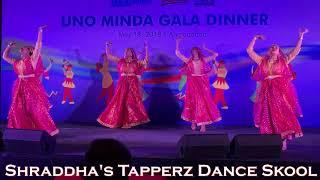 Ghoomar | Rajasthani | Padmavati | easy steps | Shraddha's Tapperz Dance Skool