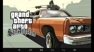 Jouer GTA San Andreas sur tablette