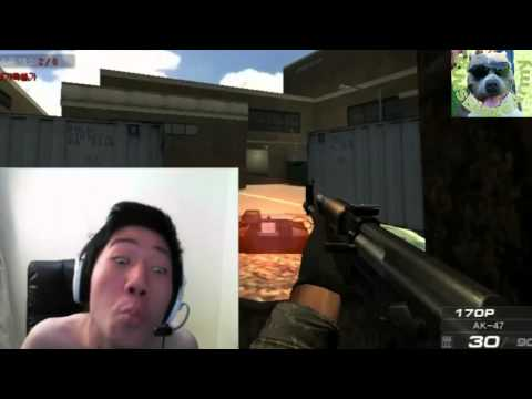 Korean Gamer Goes Crazy!! HILARIOUS!! LOL