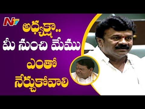 talasani Srinivas Yadav Speech in Telangana Assembly Session 2019 | NTV