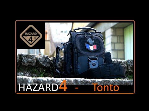 Hazard 4 - TONTO Mini-messenger bag -Revue - Retex (French)