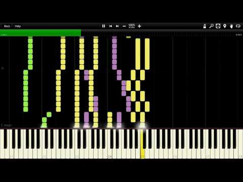 Aqua Timez  Alones Bleach OP 6 Full Piano Tutorial