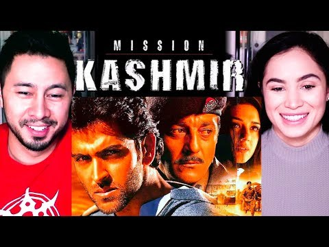 MISSION KASHMIR   Hrithik Roshan   Sanjay Dutt   Preity Zinta   Trailer Reaction w/ Moriah Garcia