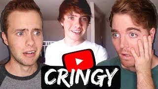 REACTING TO MY OLD CRINGY VIDEOS!!