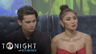 TWBA: James and Nadine talk about their relationship