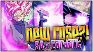 IS THIS THE NEW ROSE GOKU BLACK'S SUPER ATTACK?! CARD ART & SA ORIGINS! DBZ Dokkan Battle