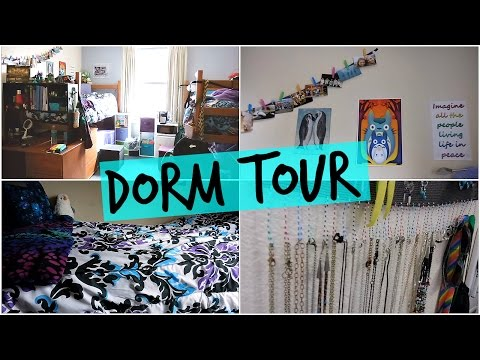 College Dorm Room Tour!