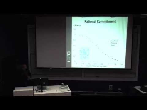 Mike Georgeff - Rationality, Intelligent Agents, and Survival - Singularity Summit Australia 2010