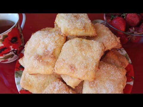 Ну Очень Вкусное Печенье Домашнее на сметане за считанные минуты. Слоёное, Нежное и Воздушное.
