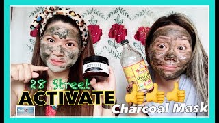 ACTIVATE CHARCOAL MASK  by 28 STREET | HONEST REVIEW and DEMO || Simply Mhyles😊💕