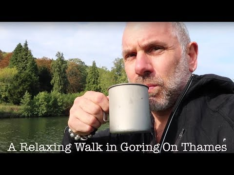 A Relaxing Walk In Goring On Thames