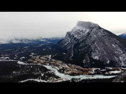 Banff Alberta DJI Phantom 4 4k Drone
