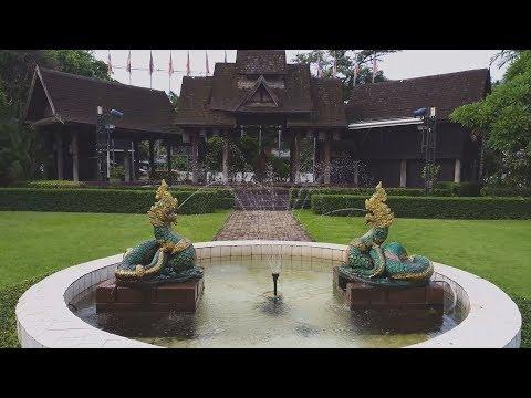 Vườn trang rực rỡ và vẻ đẹp cổ kính tại The Imperial Mae Ping hotel, Chiang Mai, bắc Thái Lan