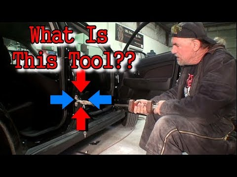 How To Use A Slide Hammer To Fix A BIG DENT - Collision Repair Tech Tips